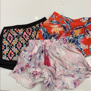 Bundle of cute summer shorts !!!